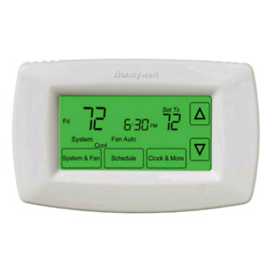 New Honeywell 7-Day Programmable Touchscreen Thermostat