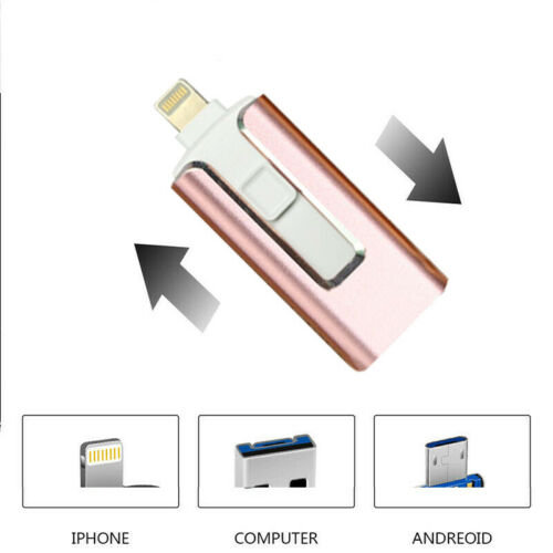 256GB 512GB Flash Drive USB Memory Stick U Disk For IOS IPhone 8 X 11 12 IPad PC - $14.94