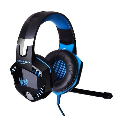 G9000 Stereo Gaming Headset for PS4, PC, Xbox One Controller, Noise Cancelling