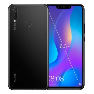 HUAWEI P SMART PLUS 64GB+4GB RAM TELEFONO MOVIL LIBRE SMARTPHONE NEGRO BLACK 4G