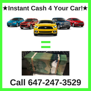 Cars 4 Cash! We Will Buy Your Car Up To $30,000 CASH!!!!