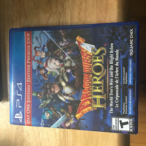Dragon Quest Heroes PS4 GOOD CONDITION