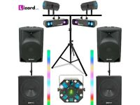 DJ Party System 3 – iPod / Laptop - DJ Equipment Hire - £155