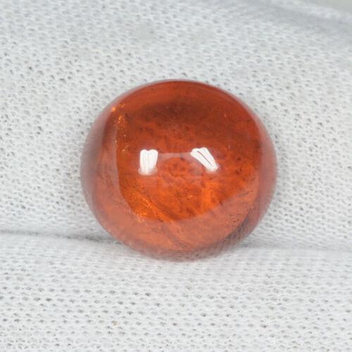 14.22 ct BEAUTIFUL ORANGE RED NATURAL SPESSARTITE GARNET Cabochon See Vdo 3213 A
