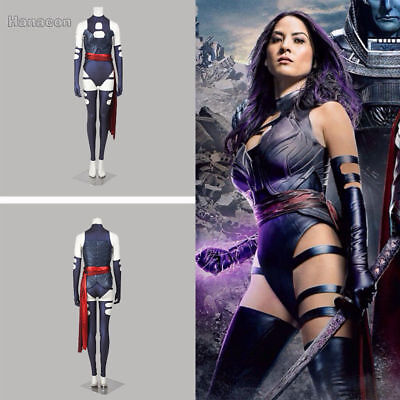 X-Men: Apocalypse Psylocke Cosplay Costume Halloween Carnival Costume Version