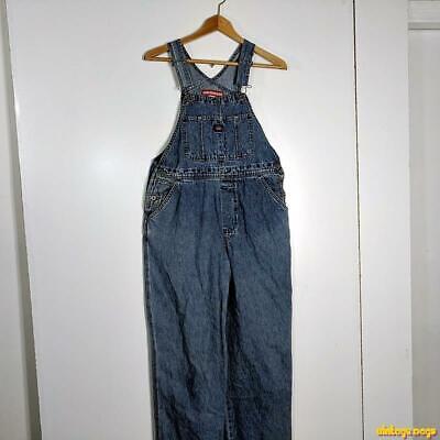 Vintage Overalls & Jumpsuits UNIONBAY Cotton Denim Jeans Bib Overalls Womens Size M Medium Blue $44.99 AT vintagedancer.com