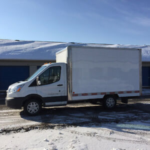 Camion cube Ford transit 2015  12 pi.