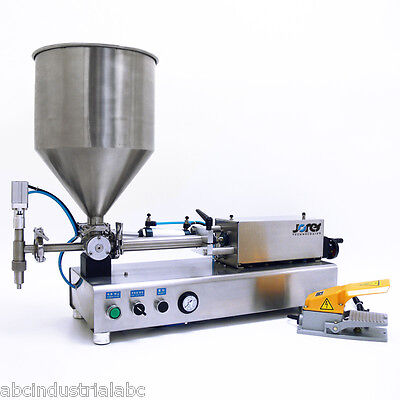 High Viscosity Filling Machine Manual Adjustable 20-100ml Bottle Filler