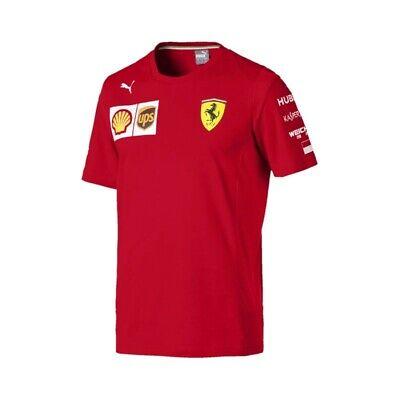 2019 Charles Leclerc Official F1 Driver T-Shirt Mens Scuderia Ferrari Formula 1