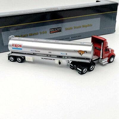 SpecCast 1:64 Diecast Truck Replica Rentz Eden Oil Co. 8600/E Tank Trailer Model
