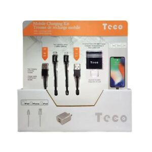 Mobile Charging Kit With lighting Cable