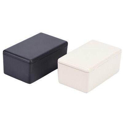 5pcs Black Waterproof Plastic Electric Project Case Junction Box 60x36x25mm Sm