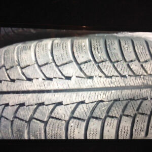 215/55r16 97t ***4x winter tires with rims