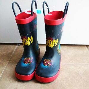 Brand NEW, Size 7 toddler rain boots (Children's place)