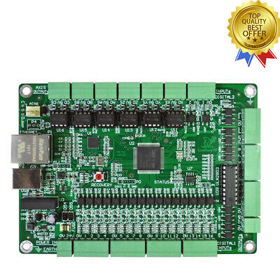 6 Axis Mach3 Board Cnc Motion Controller Usbethernet For Cnc Engraving Machine