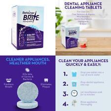 Retainer Brite 96 Tablet Denture Invisalign Brace Cleaner ...