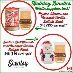 Scentsy Holiday warmer + BRICK!!!!!