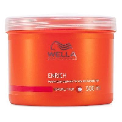 Wella Enrich Moisturizing Treatment For Dry & Damaged Hair