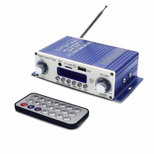 Audio Amplifier, Mini Stereo Amplifier with remote