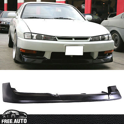 Used, Fit for 97-98 240SX S14 Kouki GR Style Front Bumper Lip Spoiler Bodykit PU for sale  USA
