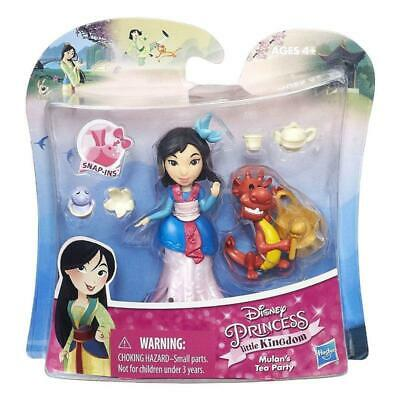 DISNEY PRINCESS LITTLE KINGDOM MULAN'S TEA PARTY MINI DOLL PLAY SET - Princess Tea Party Set