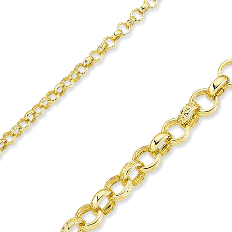 """STERLING SILVER 16/"""" ROUND SOLID BELCHER LINK  PENDANT CHAIN NECKLACE GIFT BOX"""