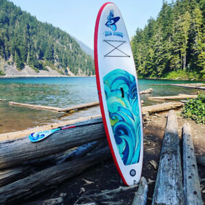 Inflatable Stand Up Paddle Board Demo board