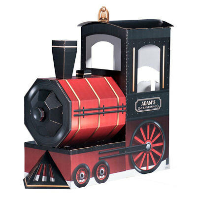 TRAIN LOCOMOTIVE Personalized CARDBOARD CUTOUT Stand-In Photo Prop Toy Playhouse - Photo Stand In Props