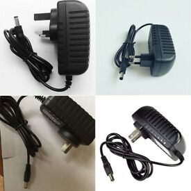 12V 2A Power Supply AC To DC Adapter Plug Converter Charger fit CCTV Camera
