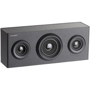 auvisio Bluetooth 4.0- 2.1-Holz Regal Lautsprecher, Subwoofer, Akku, 12 Watt
