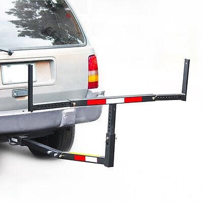 Pick Up Truck Bed Hitch Extender Extension Rack Ladder Canoe Boat Kayak Lumber