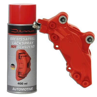 Dino Bremssattellack Spray 1K Rot glänzend 1 Komponenten Lackspray 400ml