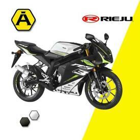 RIEJU RS3 50 - SPORTS BIKE - LEARNER LEGAL - MENARELLI AM6 MOTOR