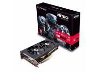 Sapphire Radeon RX 480 Nitro 4096MB GDDR5 Graphics Card
