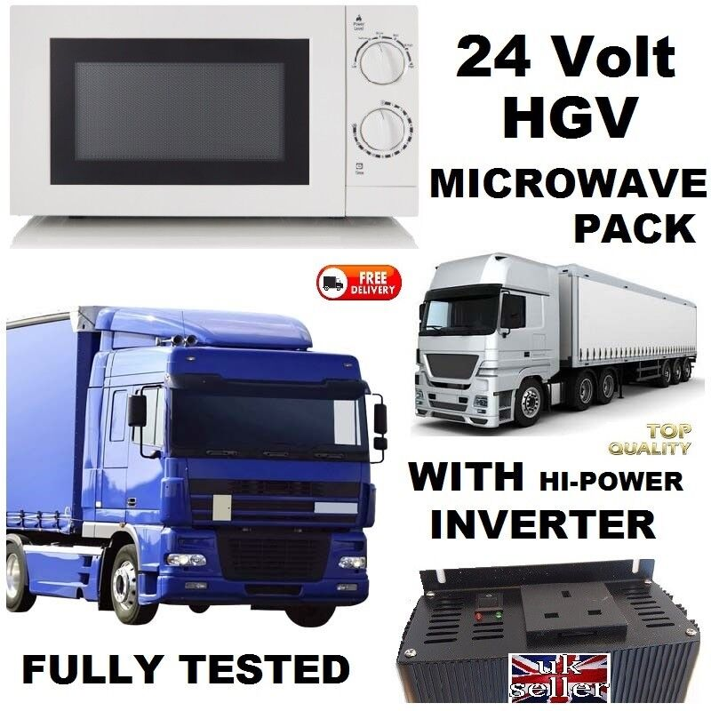 24 Volt Truck Microwave Oven