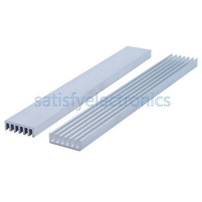 New Silver-white Heat Sink Led 150x20x6mm Heat Sink Aluminum Cooling Fin