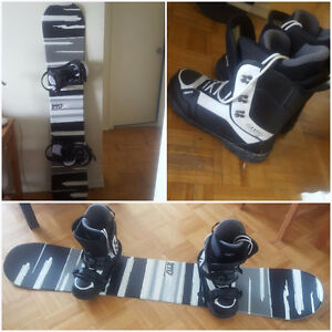 Board, Boots & Bindings