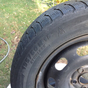 195/60-15 Michelin tires and rims