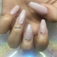 Nail Salon Technician Services Acrylic Gel Extensions