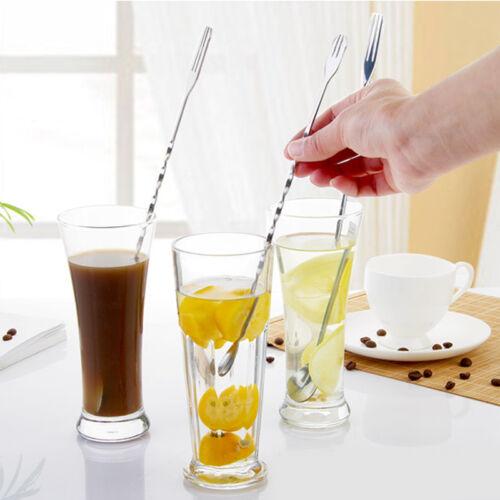 Kunststoff Cocktail Caipirinha Stößel Löffel Muddler Barzubehör Mixer 2 Far Z1V4