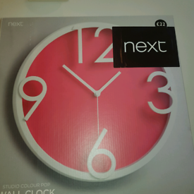 Next clock brand new In box. Cost £22.