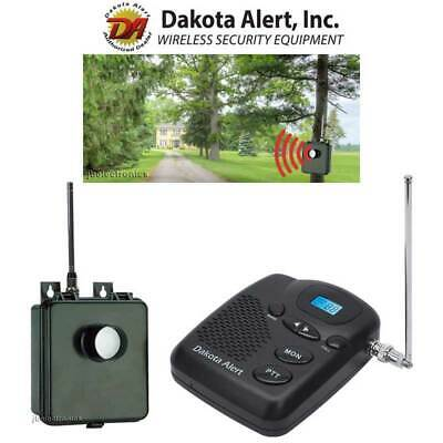 DAKOTA ALERT MURS BS KIT WIRELESS MOTION SENSOR DRIVEWAY SECURITY ALARM NEW  Motion Alert Kit