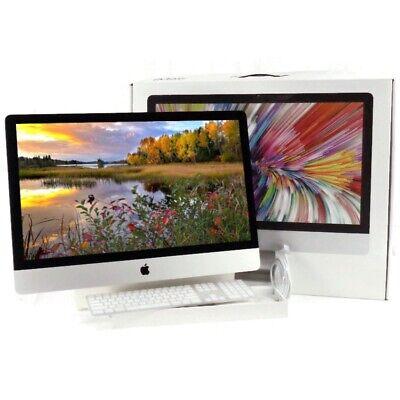 """Apple iMac A1419 27"""" (2015) Core i5-6600 3.3GHz 16GB 120GB SSD + 2TB w/ Box & KB"""