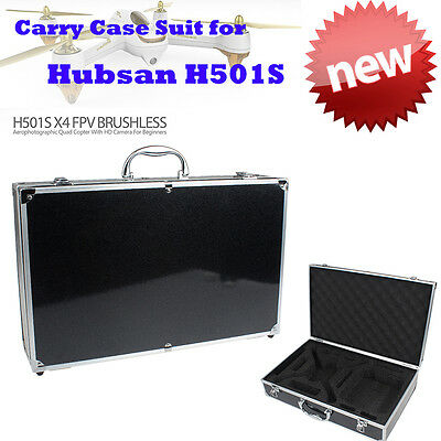 Aluminum Carrying Case Storage Box Handbag Fr Hubsan X4 H501S RC Drone&Accessory