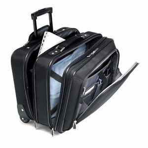 Samsonite Business One mobile office 15.6 inch, Black - $75 Cambridge Kitchener Area image 1