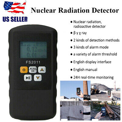Nuclear Radiation Detector Gamma Beta X-ray Tester Meter Geiger Counter Smart