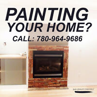 Fast Interior Painting! 780-964-9686