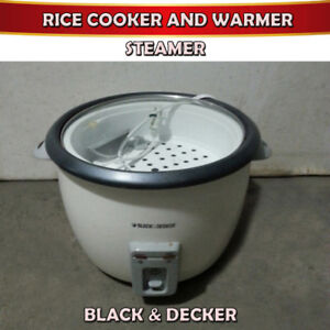 BLACK & DECKER - RICE COOKER / FOOD WARMER