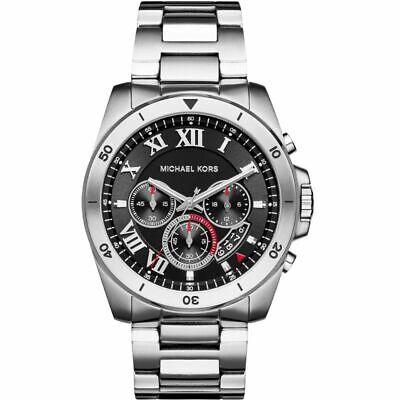 ** NEW ** Michael Kors® MK8438 Mens Brecken Black Chronograph Watch