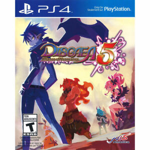 2Jeux-Disgaea 5 (comme FF-Tactics) + need for speed